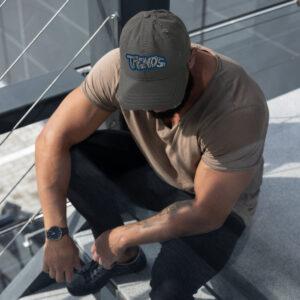 Graffiti Distressed Dad Hat