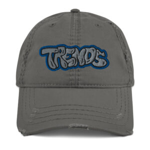 Graffiti Distressed Dad Hat