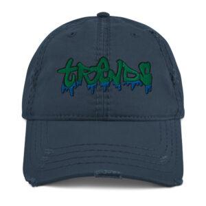 Graffiti Drip Distressed Dad Hat
