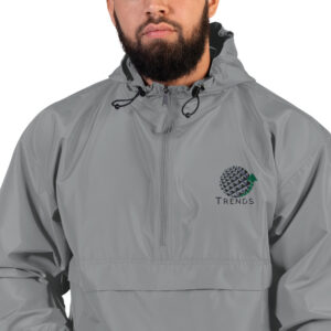 TRENDS Embroidered Champion Packable Jacket